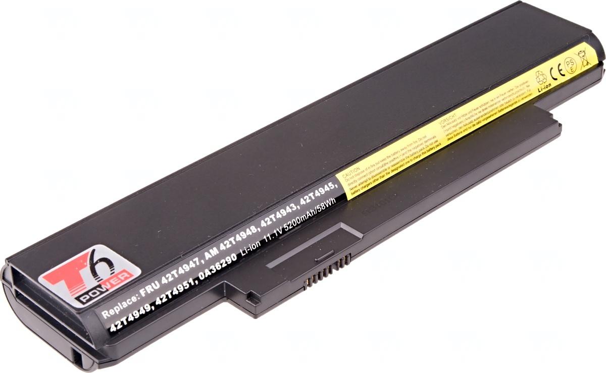 Baterie T6 power Lenovo ThinkPad Edge E120, E125, E320, E325, X121e, X130e, X131e, 6cell, 5200mAh
