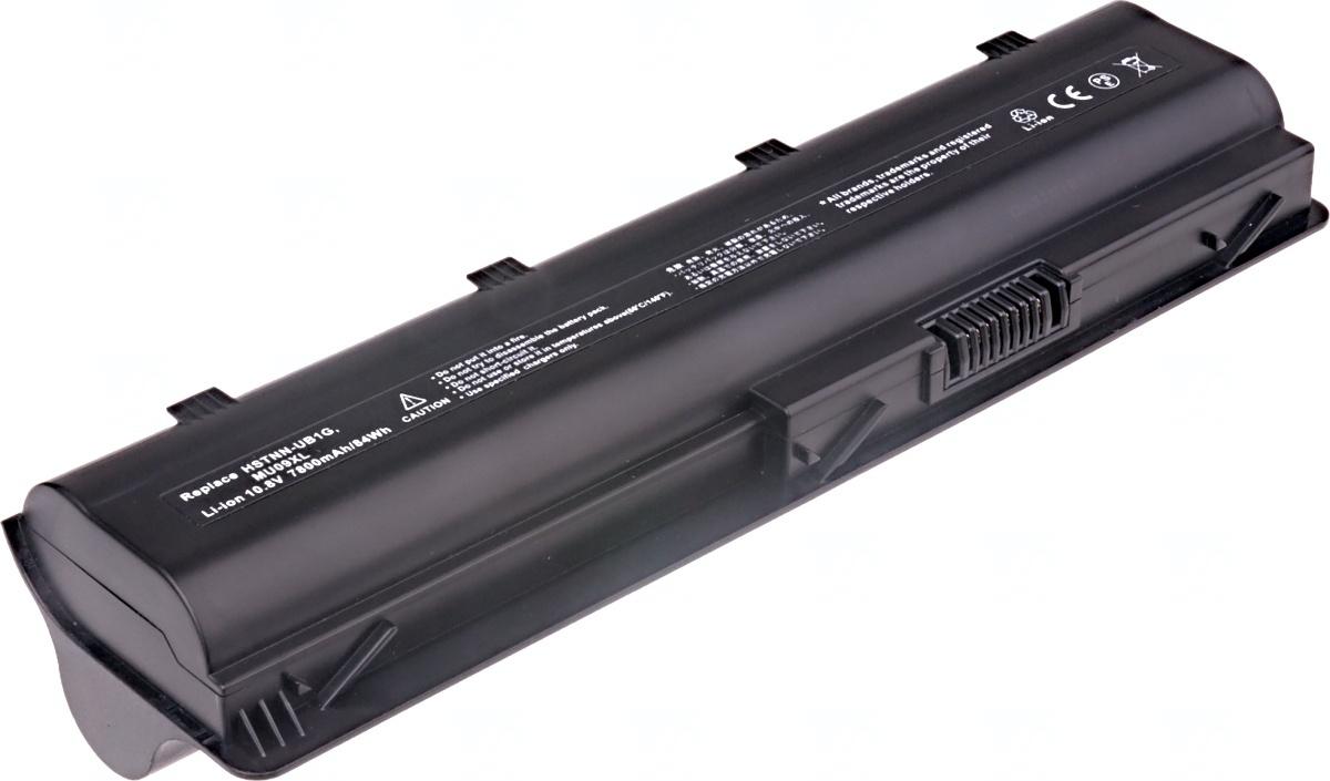 Baterie T6 power HP Pavilion dv3-4000, dv4-4000, dv5-2000, dv6-3000, dv7-4000 serie, 9cell, 7800mAh