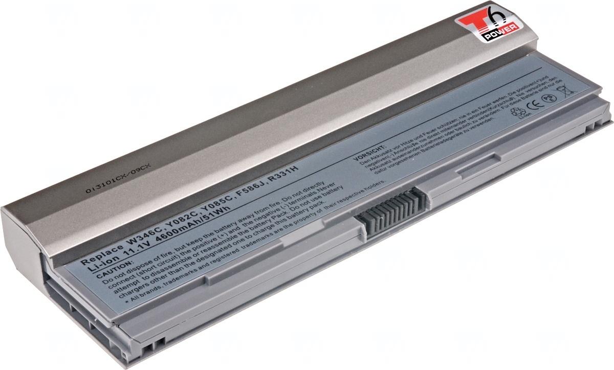 Baterie T6 power Dell Latitude E4200, 6cell, 4600mAh