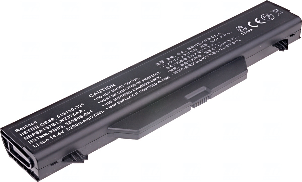 Baterie T6 power HP ProBook 4510s, 4515s, 4710s, 4720s, 8cell, 5200mAh