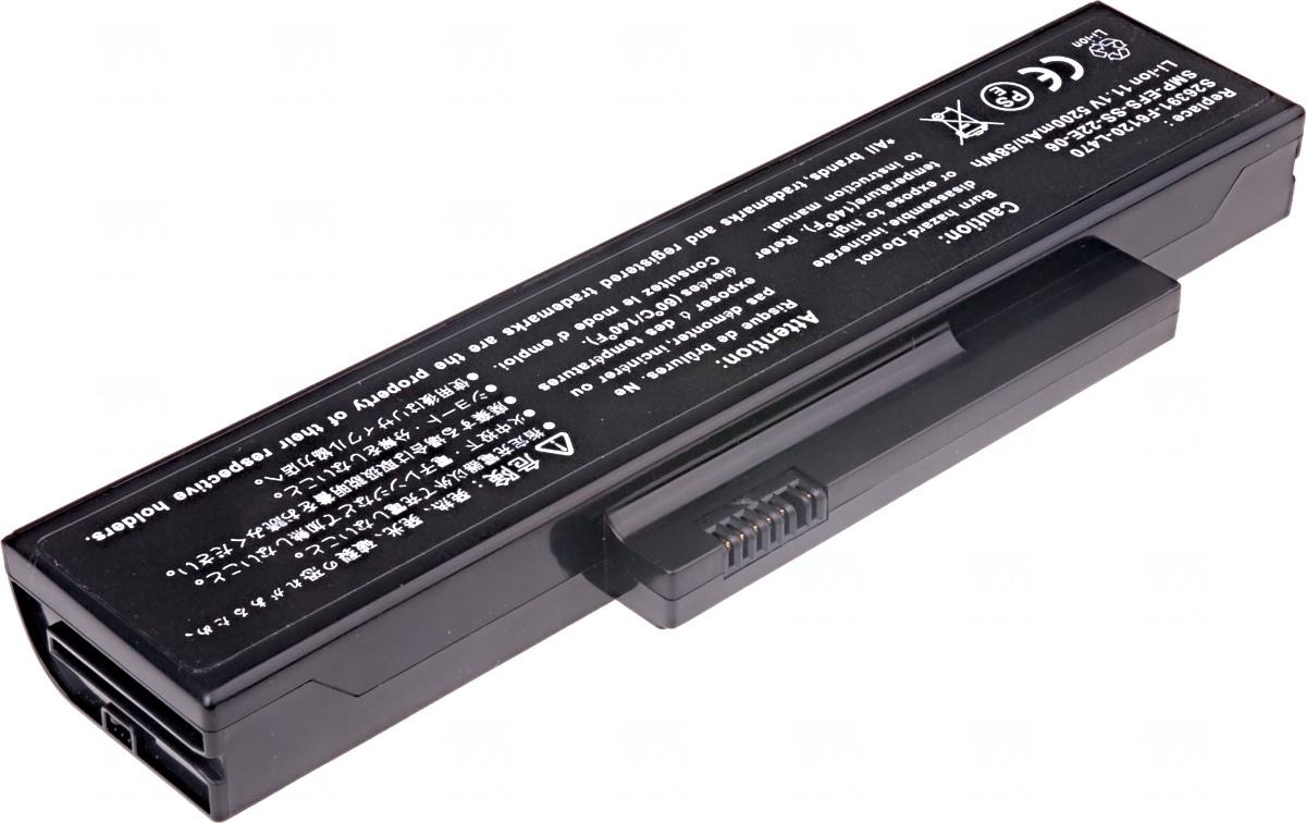 Baterie T6 power Fujitsu Esprimo Mobile V5535, V5555, V6515, V6555, Amilo Li1703, 6cell, 5200mAh