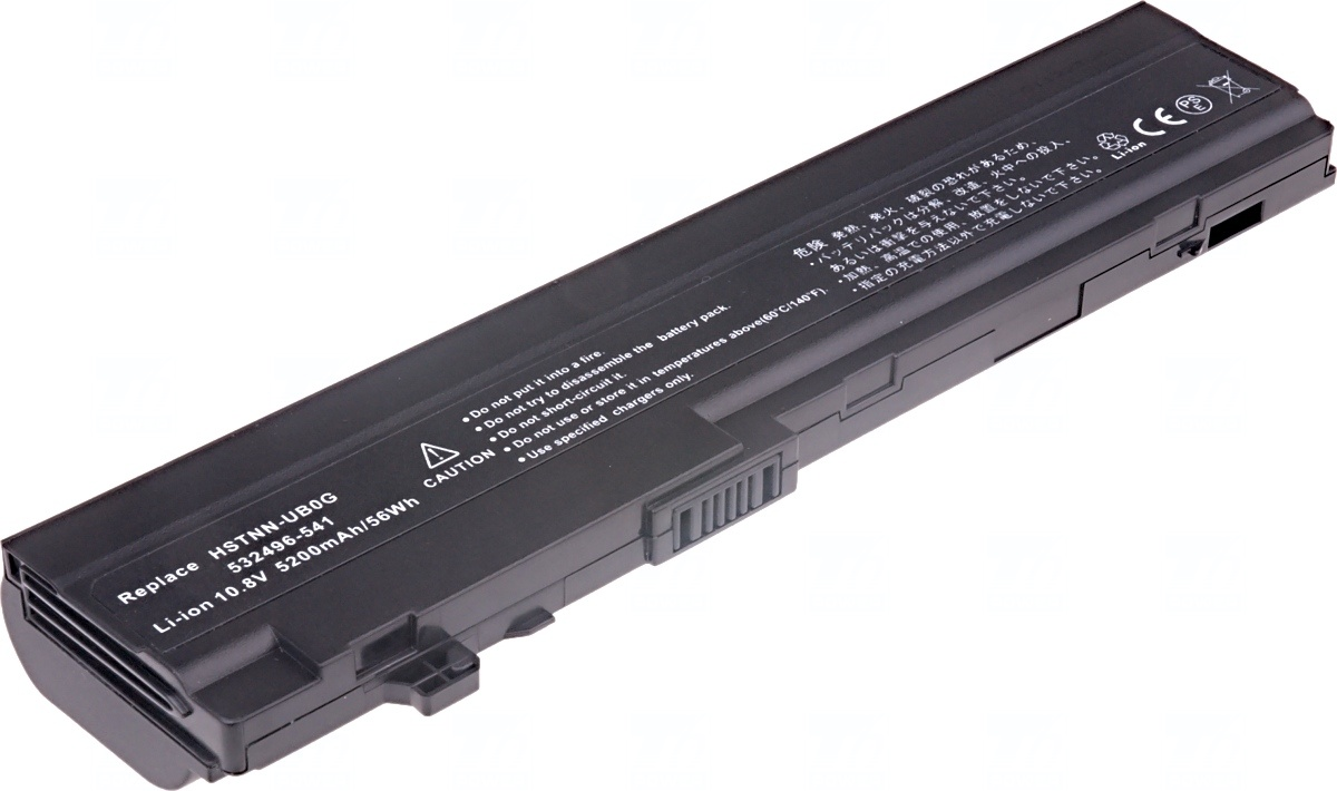 Baterie T6 power HP Mini 5101, 5102, 5103 serie, 6cell, 5200mAh