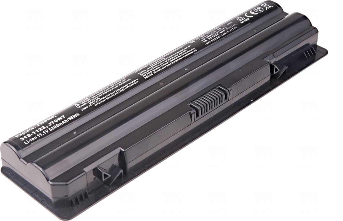 Baterie T6 power Dell XPS 14, 15, 17, L401X, L501X, L502X, L701X, L702X serie, 6cell, 5200mAh