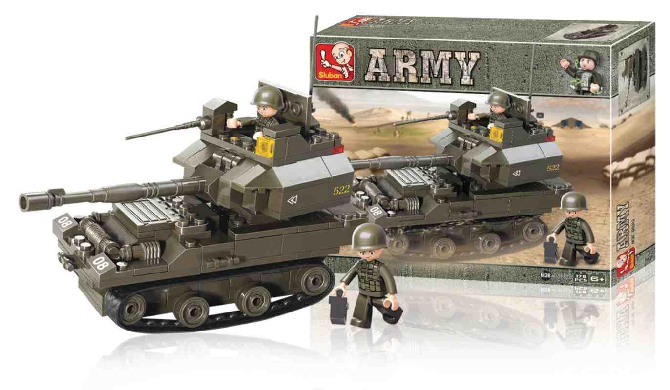 Sluban M38-B0282 - Army Series - Tank