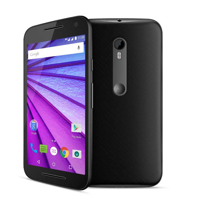 "Lenovo Smartphone Moto G Single SIM/5,0"" IPS/1280x720/Quad-Core/1,4GHz/1GB/8GB/13Mpx/LTE/Android 6.0/Black"