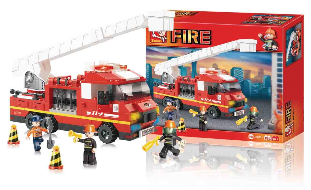 Sluban M38-B0221 - Fire Series - Ladder Truck