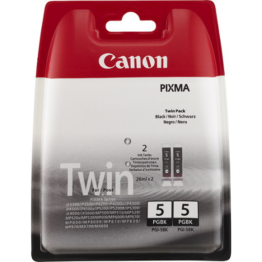 CANON PGI5Bk TWIN PACK