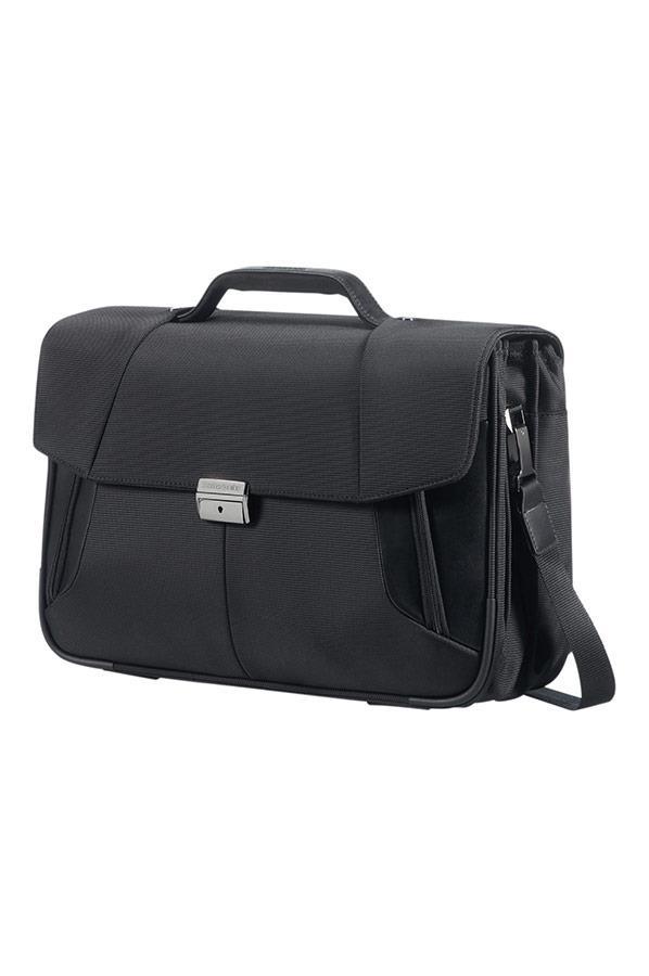 Case SAMSONITE 08N09010 15,6'' XBR 3 guss comp, pock, tblt, doc, topload, black