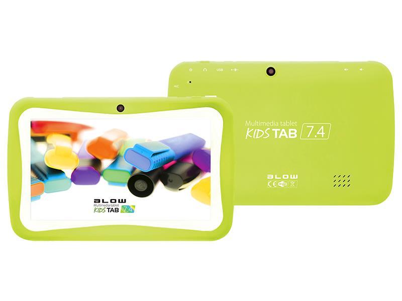 Tablet BLOW KidsTAB 7.4 green + pouzdro
