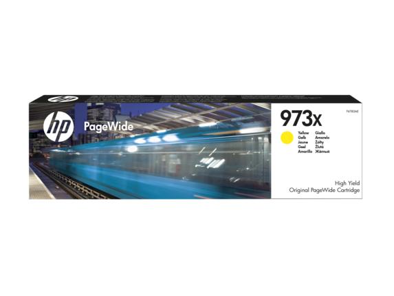 HP F6T83AE 973X High Yield Yellow Original PageWide Cartridge