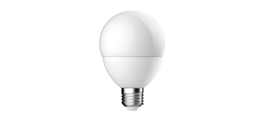 Světelný zdroj LED Energetic Lightning 9.5W -> 60W 2700K G80 matný 810lm