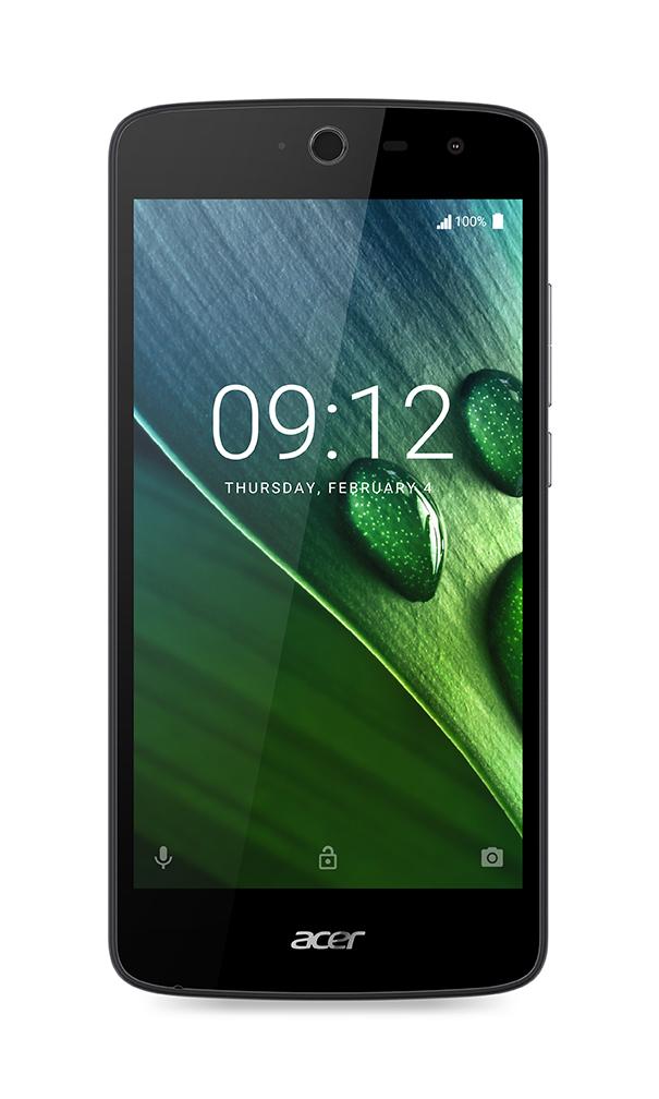 """ACER LIQUID ZEST 5"""" IPS 1280x720, 1,3GHz Quad-Core, ROM 8GB, RAM 1GB, kamera 8Mpx/5Mpx, černý, Android 6.0"""