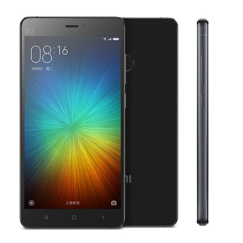 Xiaomi Mi4S Black/ 5´´ IPS 1920x1080/1,5GHz HC/3GB/64GB/SD/2xSIM/FP/LTE/13MPx/3260mAh