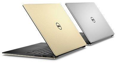 """Dell XPS 13 9350 13"""" QHD+ Touch i7-6560U/8G/256SSD/MCR/USB/THB/W10P/3RNBD/Zlatý"""