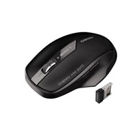 CHERRY myš MW 2310, USB, bezdrátová, energy-saving, mini USB receiver, černá
