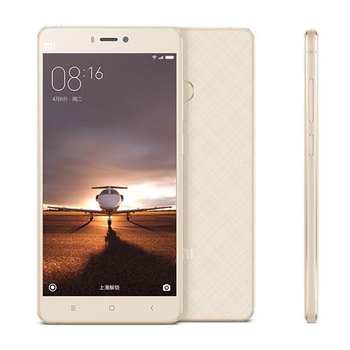 Xiaomi Mi4S Gold/ 5´´ IPS 1920x1080/1,5GHz HC/3GB/64GB/SD/2xSIM/FP/LTE/13MPx/3260mAh