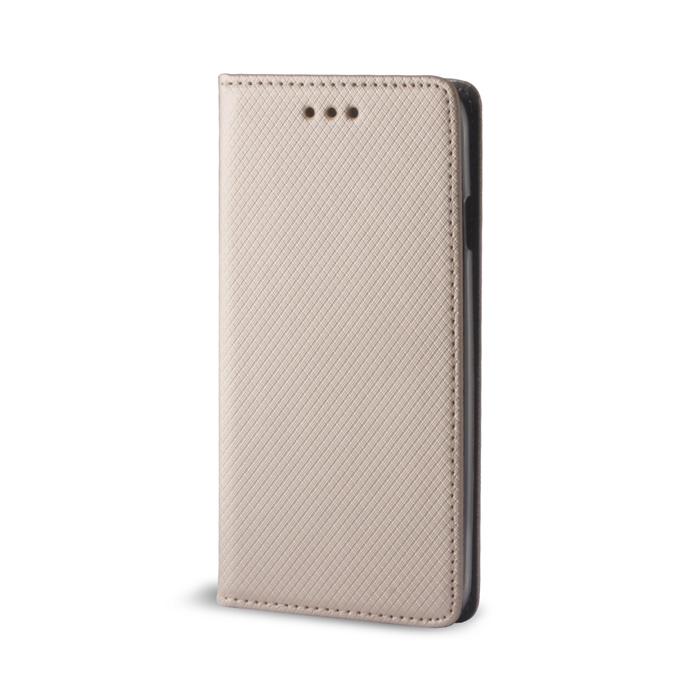 Pouzdro s magnetem Samsung G530 Grand Prime gold