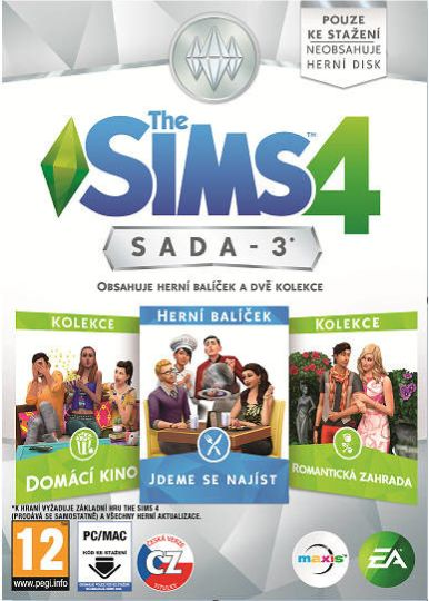 Electronic Arts PC hra The Sims 4 Bundle Pack 3