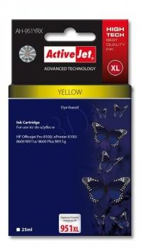 Ink ActiveJet AH-364YCX | Yellow | 12 ml | HP HP 364XL CB325EE