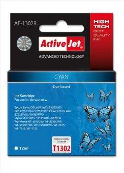 Ink ActiveJet AE-1302R | Cyan | 12 ml | Epson T1302