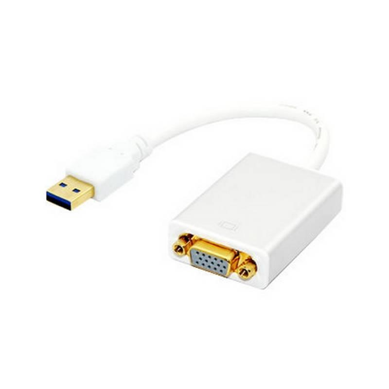 Techly Konvertér / Adaptér USB 3.0 na VGA 1080p