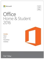 Office Mac Home Student 2016 CZ EuroZone Medialess