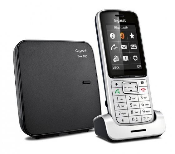 SIEMENS Gigaset SL450 Silver - DECT/GAP bezdrátový telefon