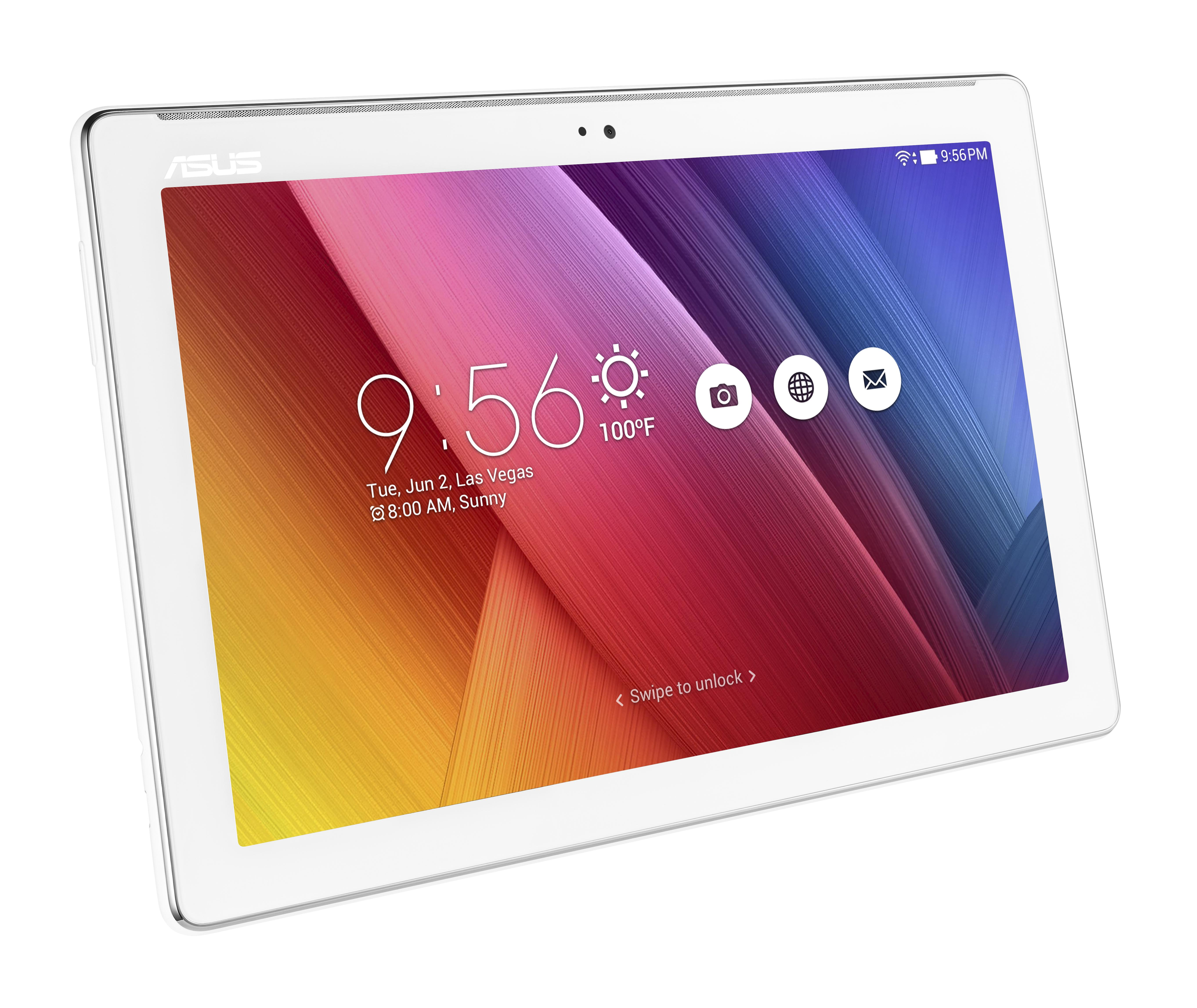 "Asus ZenPad 10 MTK8163/2GB/32GB/10,1""/1280x800/IPS/Android M/white"