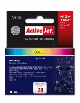Ink ActiveJet AH-28S | Kolor | 15 ml | HP HP 28 C8728A