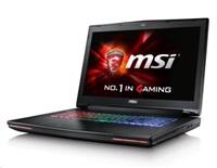 """MSI NB GT72S 6QD-1263CZ Dominator Pro G, 17.3"""" FHD AG eDP,i7-6700HQ,16GB,GTX970M 3G,256GB+1TB 7200,DVR,WF+BT4.1,W10"""
