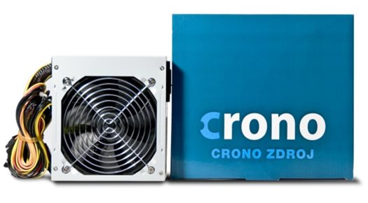 Crono zdroj 500 W, 12 cm fan, PFC