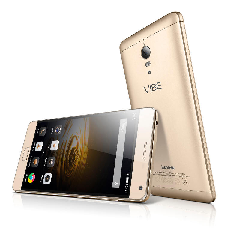 "Lenovo Smartphone Vibe P1 PRO Dual SIM/5,5"" IPS/1920x1080/Octa-Core/1,5GHz/3GB/32GB/13Mpx/LTE/Android 5.1/Gold"