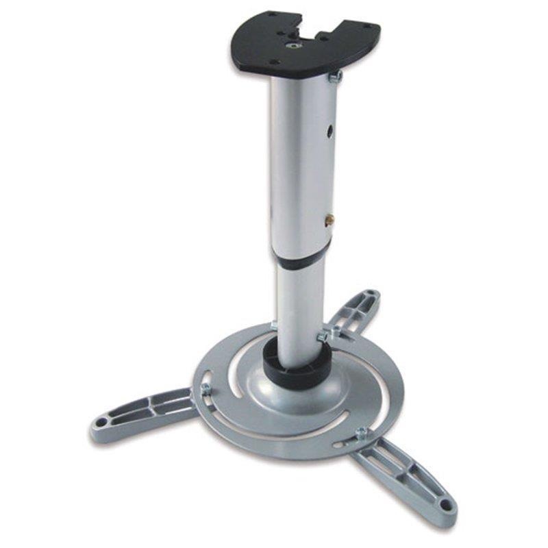 Techly stropní držák pro projektor 30/37 cm, 15 kg, stříbrný