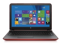 HP NTB Pavilion 15-ab037nc,Core i3-5010U dual,4GB,500GB/5400,AMD R7M360 2GB,15.6 FHD AG,Win8.1 - red