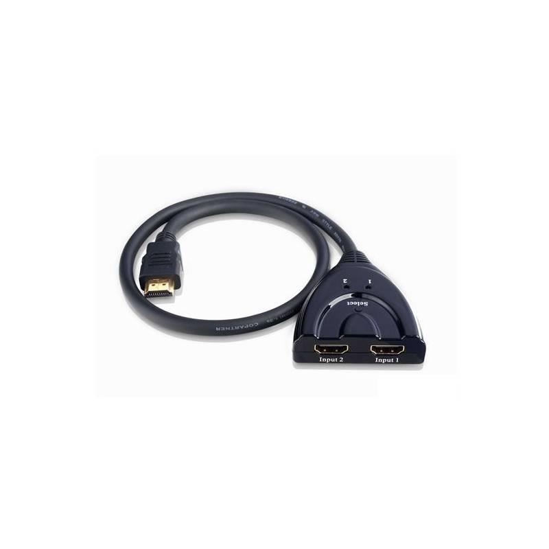 Techly Dvousměrný HDMI switch 2/1 nebo 1/2, 4K2K 3D