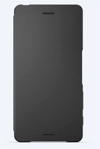 Sony Style Cover Flip SCR52 Xperia X Black
