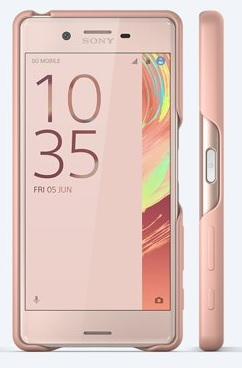 Sony Style Back Cover SBC22 Xperia X Rose Gold