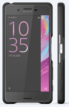Sony Style Back Cover SBC22 Xperia X Black