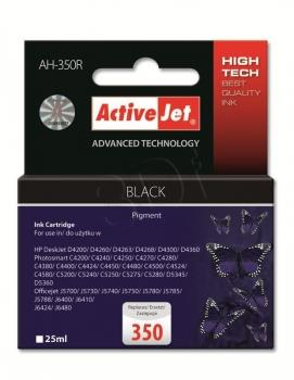 Ink ActiveJet AH-350R | black | 25 ml | HP HP 350 CB335EE