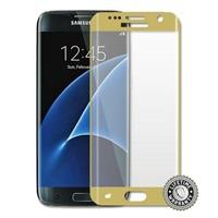 Screenshield™ SAMSUNG G935 Galaxy S7 edge Temperované sklo (golden)