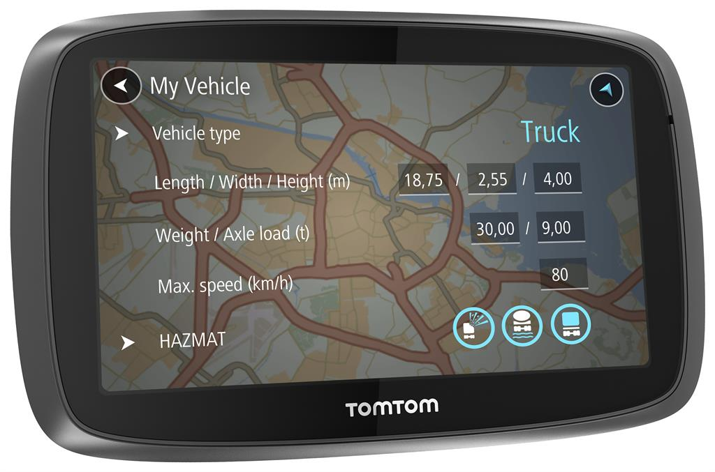 TomTom Trucker 6000 Lifetime, 6'', Speak & Go (CZ)