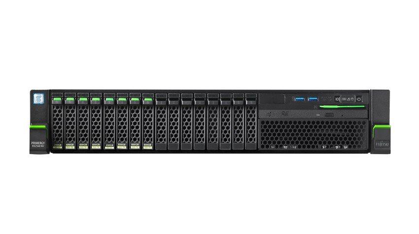 """Fujitsu PRIMERGY RX2540M2/8x2,5"""" EXP./E5-2620v4 8C/16T 2,1GHz/16GB/noHDD/PRAID EP420i/4x1Gb/TPM 2.0/800W/SYM"""