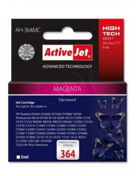 Kazeta ActiveJet AH-364MC | Magenta | 5 ml | HP 364 CB319EE