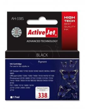 Ink ActiveJet AH-338S   black   17 ml   HP HP 338 C8765EE