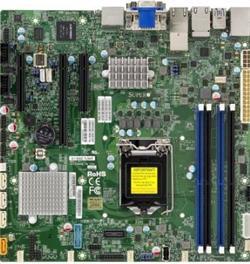 SUPERMICRO MB 1xLGA1151 (i7 do 1U), iC236,DDR4,4xSATA3,PCIe 3.0 (1 x16, 2 x4),HDMI,DP,DVI,Audio,12v DC, IPMI