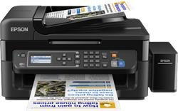 Epson L565, A4, color All-in- One, Fax, ADF, USB, LAN, iPrint
