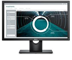 "Dell E-series E2216H 21.5"" LED monitor 250cd 5ms VGA DP (1920x1080) Black EUR"