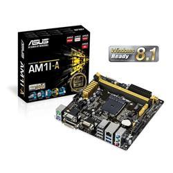 ASUS AM1I-A soc.AM1 DDR3 mITX iG GL USB3.0 HDMI DVI D-Sub COM