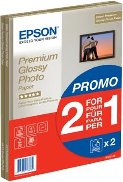 Epson papier Premium Glossy Photo, 255g/m, A4, 30ks