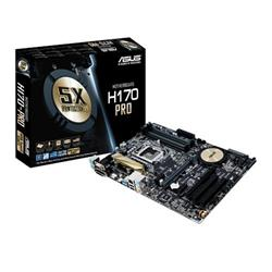 ASUS H170-PRO soc.1151 H170 DDR4 ATX 2xPCIe RAID USB3 GL iG D-Sub DVI HDMI